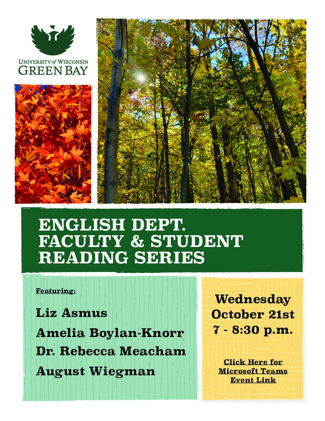 English Department Faculty & Student Reading Series